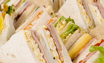 Artisan coffee and<br> sandwich bar